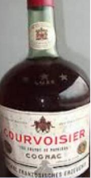 1 Flasche Courvoisier