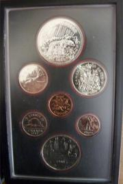 1 Set Münzen
