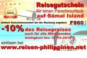 10% Reisegutschein