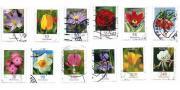 12 Briefmarken aus