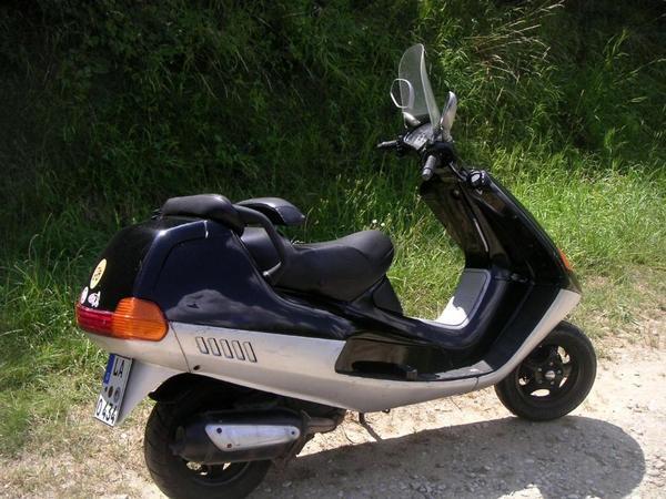 125 ccm piaggio vespa hexagon 2 takt motorroller in eching. Black Bedroom Furniture Sets. Home Design Ideas