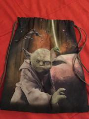 1Sportbeutel Meister Yoda