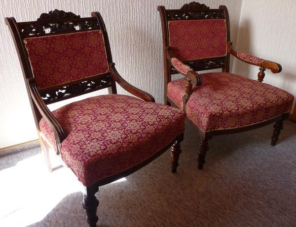 2 antike sessel sonstige m bel antiquarisch aus metzingen. Black Bedroom Furniture Sets. Home Design Ideas