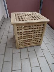 2 Holz-Aufbewahrungsboxen