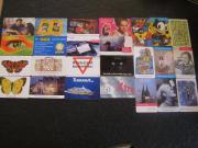 25 Stück Telefonkarten