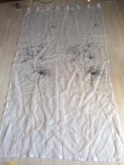 2x Schlaufenvorhang / Schlaufengardine
