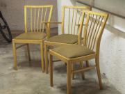 3 Stühle Buche