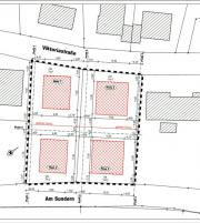 4 erschlossene Baugrundstücke
