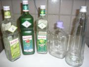 5 Leere Flaschen
