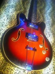 60er Höfner Jazzgitarre