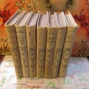 7 taschenbücher, in