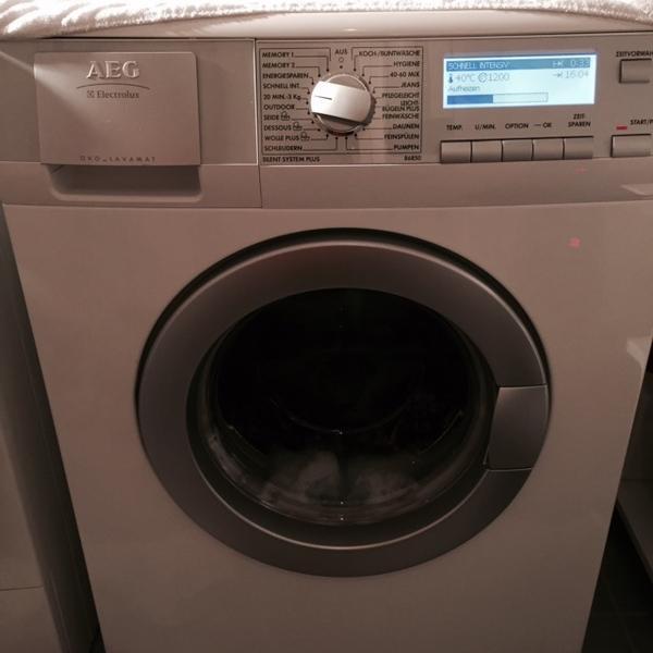 aeg ko lavamat 86850 in hallbergmoos waschmaschinen kaufen und verkaufen ber private. Black Bedroom Furniture Sets. Home Design Ideas