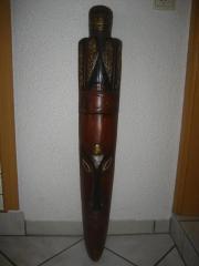 Afrikanische Holzfigur