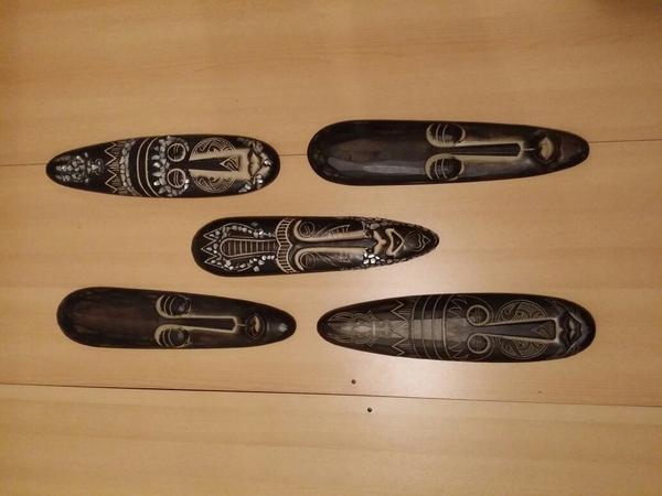 afrikanische masken neu und gebraucht kaufen bei. Black Bedroom Furniture Sets. Home Design Ideas