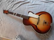 alte Hopf Gitarre