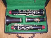 Alte Klarinette zu