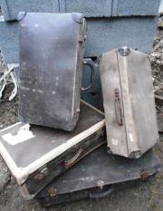 alte Koffer zur