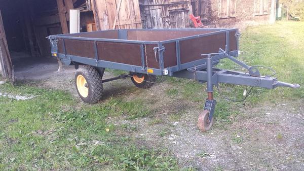 anh nger f r traktor gebremst neu restauriert in. Black Bedroom Furniture Sets. Home Design Ideas