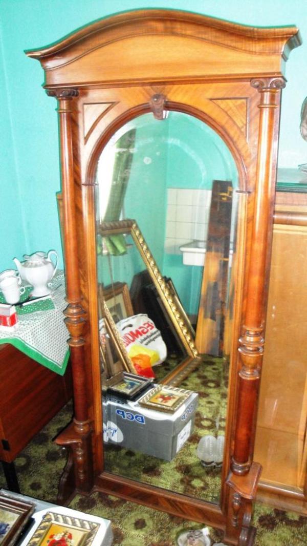 antik 2 gro e spiegel kiste alter b cher in rodgau sonstige antiquit ten kaufen und. Black Bedroom Furniture Sets. Home Design Ideas