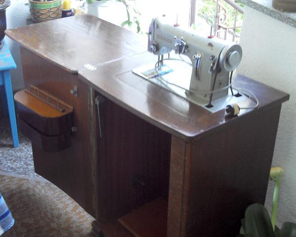 antike schrankn hmaschine von k hler 1959 in leipzig handarbeit basteln kaufen und. Black Bedroom Furniture Sets. Home Design Ideas
