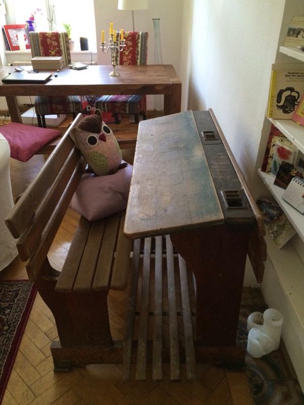 antike schulbank in m nchen sonstige m bel antiquarisch. Black Bedroom Furniture Sets. Home Design Ideas