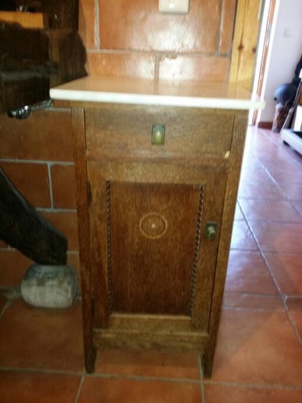 Nachttisch antik kaufen gebraucht und g nstig for Marmorplatte gebraucht
