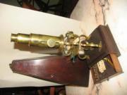 Antikes Culpeper Mikroskop