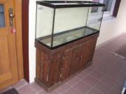 Aquarium mit Rustikalem
