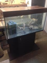 Aquarium, Unterschrank und