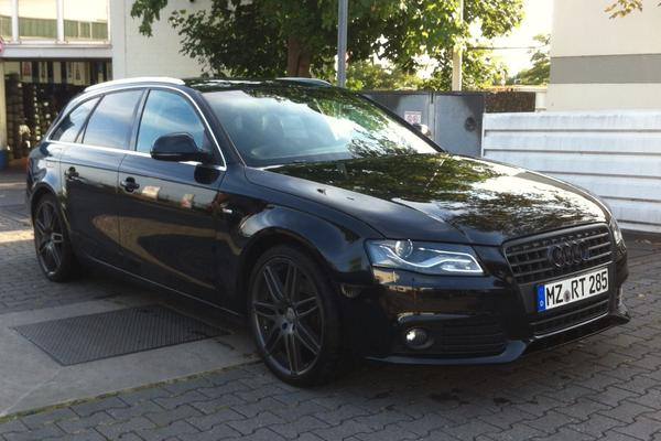 audi a4 avant 1 8 tfsi s line sportpaket plus 19 zoll. Black Bedroom Furniture Sets. Home Design Ideas