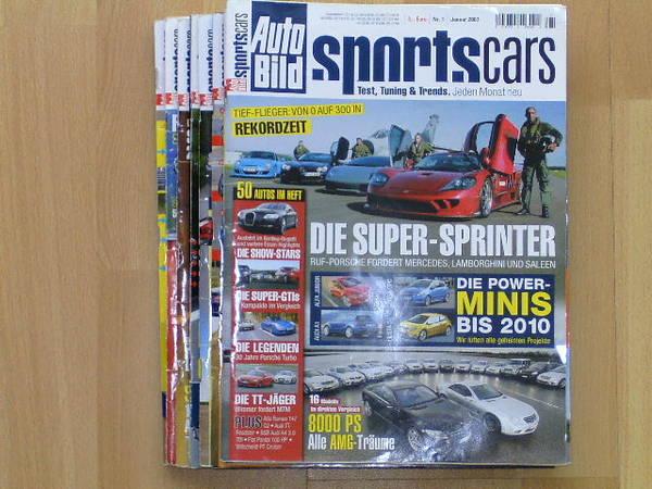 auto bild sportscars in mannheim zeitschriften magazine kaufen und verkaufen ber private. Black Bedroom Furniture Sets. Home Design Ideas