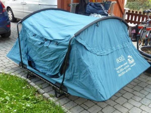 autodachzelt auto dachzelt oasis 2 trekking in dortmund campingartikel kaufen und. Black Bedroom Furniture Sets. Home Design Ideas