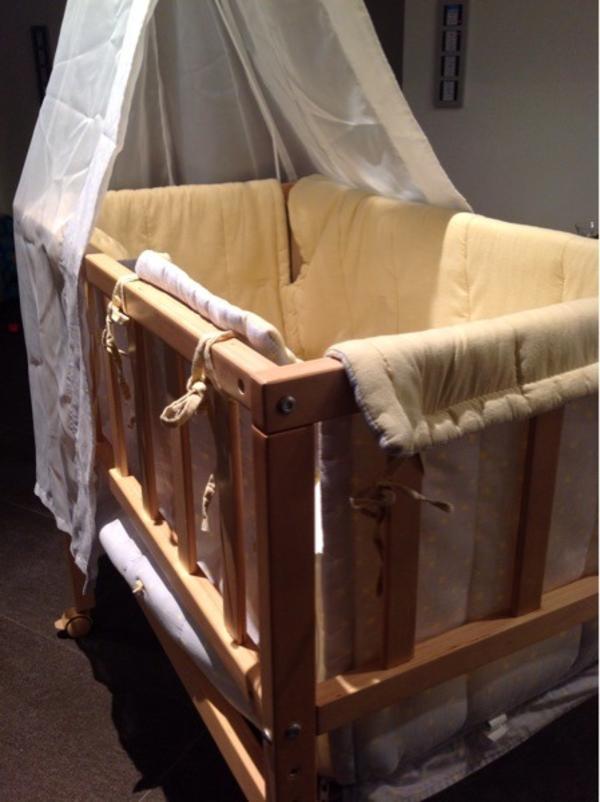 beistellbett baby neu und gebraucht kaufen bei. Black Bedroom Furniture Sets. Home Design Ideas
