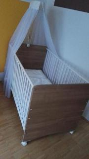 Baby-Kinderbett Komplett