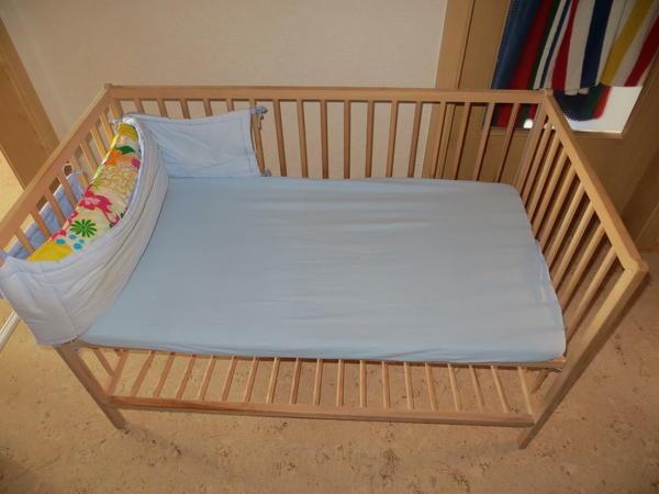 babybett ikea neu und gebraucht kaufen bei. Black Bedroom Furniture Sets. Home Design Ideas