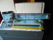 Badetuch- Glashalter-Set,