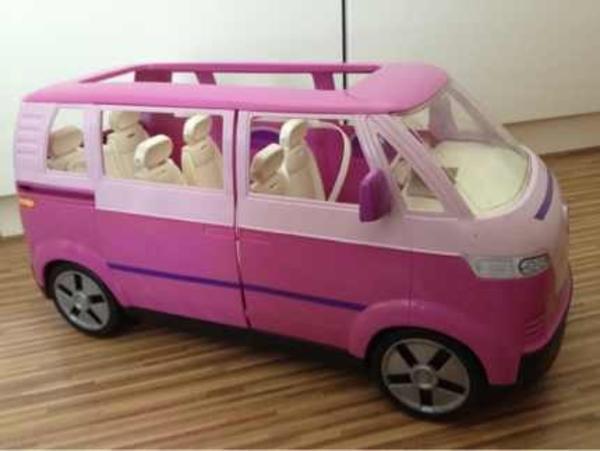 barbie vw bus in eggenstein leopoldshafen sonstiges. Black Bedroom Furniture Sets. Home Design Ideas