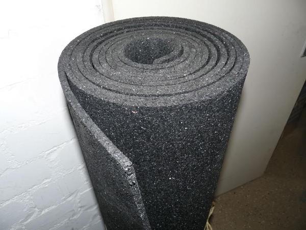 bautenschutzmatte 8mm gummimatte antivibrationsmatte in sinzheim sonstiges material f r. Black Bedroom Furniture Sets. Home Design Ideas
