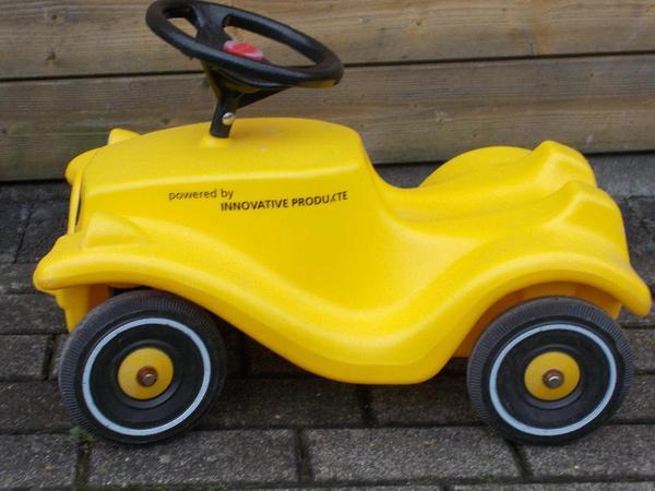 besonderes bobby car special edition gelb post look in neuss kinderfahrzeuge kaufen und. Black Bedroom Furniture Sets. Home Design Ideas