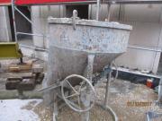 Betonkübel, betonbombe, Krankübel