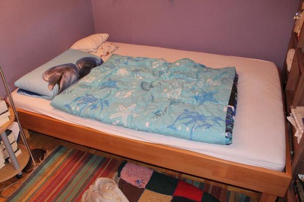 massivholz bett neu und gebraucht kaufen bei. Black Bedroom Furniture Sets. Home Design Ideas
