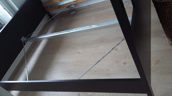 Bett / Bettgestell Schwarz in Berlin - IKEA-Möbel kaufen und ...