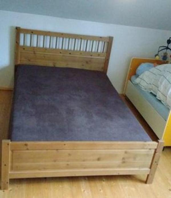 ikea hemnes bett kaufen gebraucht und g nstig. Black Bedroom Furniture Sets. Home Design Ideas