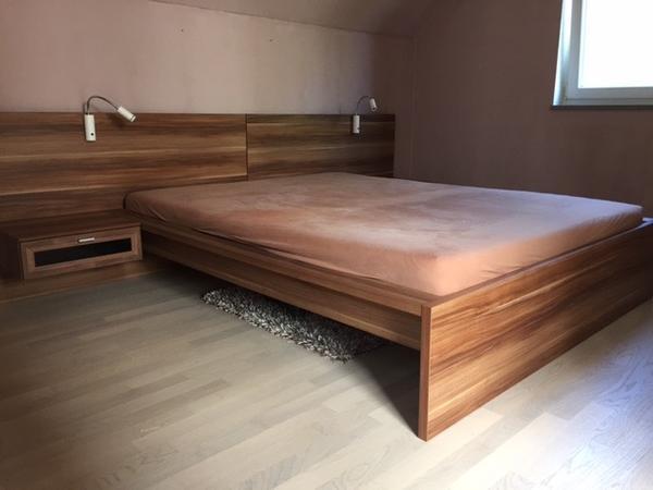 Bett passenden neu und gebraucht kaufen bei for Bett nussbaum