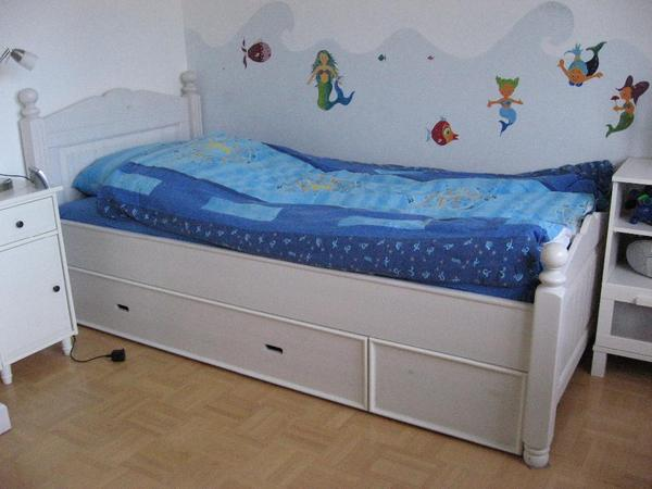 Weisse kleinanzeigen komplett einrichtungen for Bett 70x160 ikea