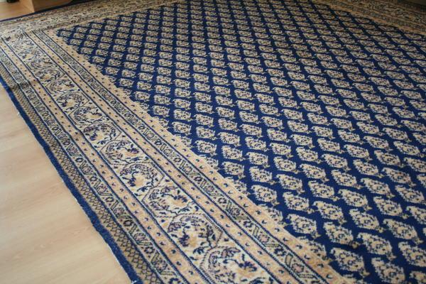 bidjar adoros d blau 2000 x 3000 mm in renningen teppiche kaufen und verkaufen ber private. Black Bedroom Furniture Sets. Home Design Ideas