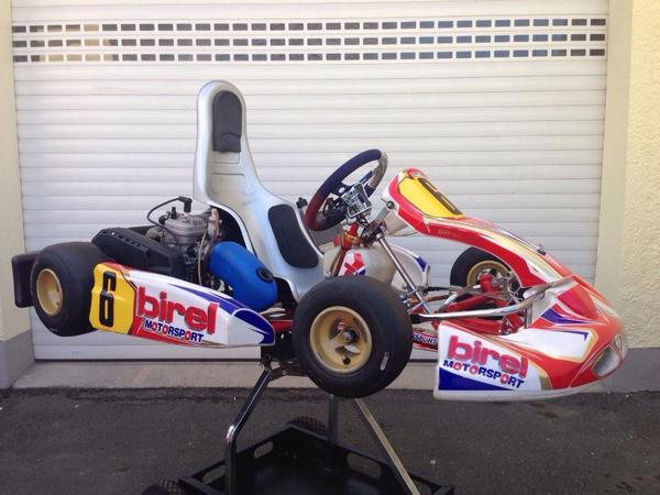 birel bambini kart mit iame watherswift motor in mudenbach. Black Bedroom Furniture Sets. Home Design Ideas