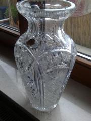 Bleikristall-Vase von