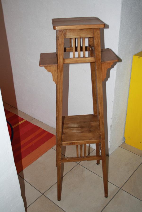 blumenst nder antik holz in gr felfing stilm bel. Black Bedroom Furniture Sets. Home Design Ideas