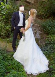 Brautkleid, Größe 36,